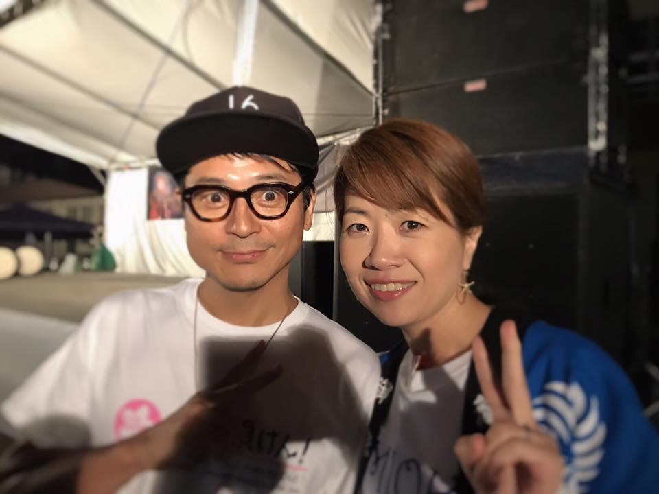 富岡町出身と言えば俊美さん。この日もとても優しくて、いつも周りに人が集まっていました。お人柄ですね^^